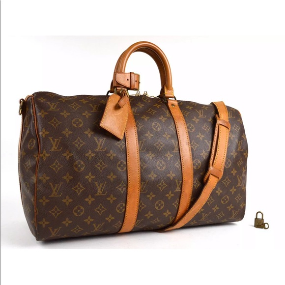 7eda65240bc33 Louis Vuitton Other - Authentic Louis Vuitton Keepall 45 Bandouliere